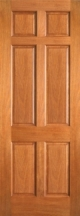 UNFINISHED MAHOGANY/OAK INTERIOR DOORS - Product Image
